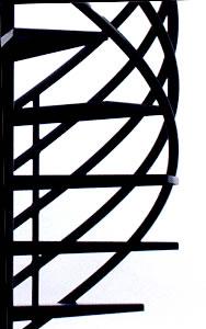Multi-Line Rail System - Horizontal Railing System Spiral Stairs