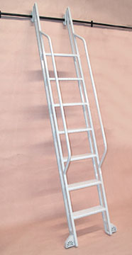 Custom Built Library Ladders Rolling Library Ladder